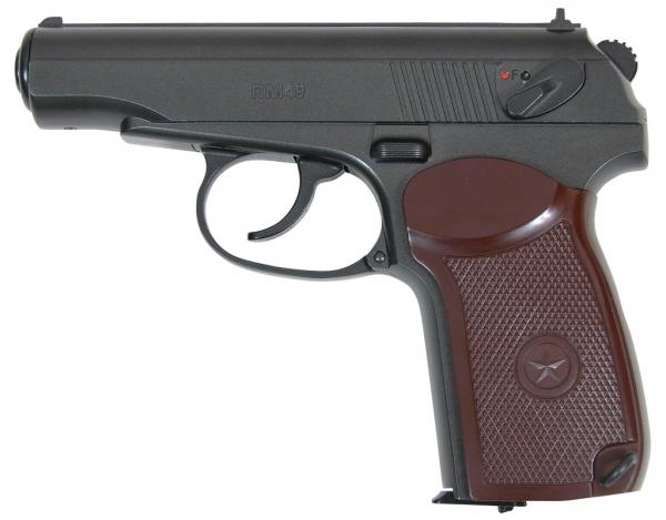 17 Borner PM Зарубежные пневматические реплики пистолета Макарова