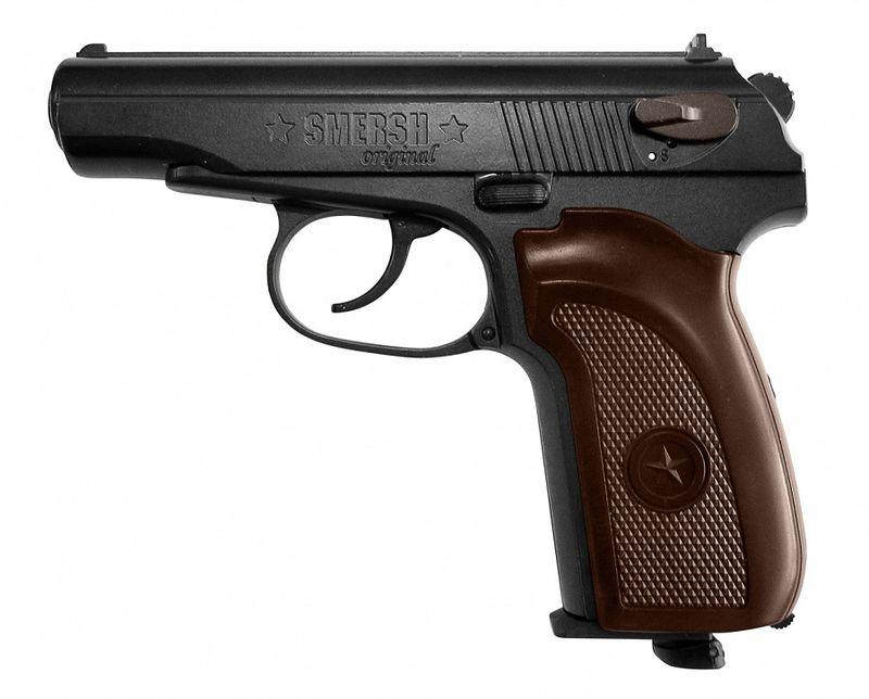 18 Smersh H1 Зарубежные пневматические реплики пистолета Макарова