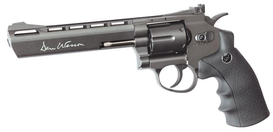 ASG Dan Wesson 6 Выбираем пневматический револьвер. Обзор 6 популярных моделей