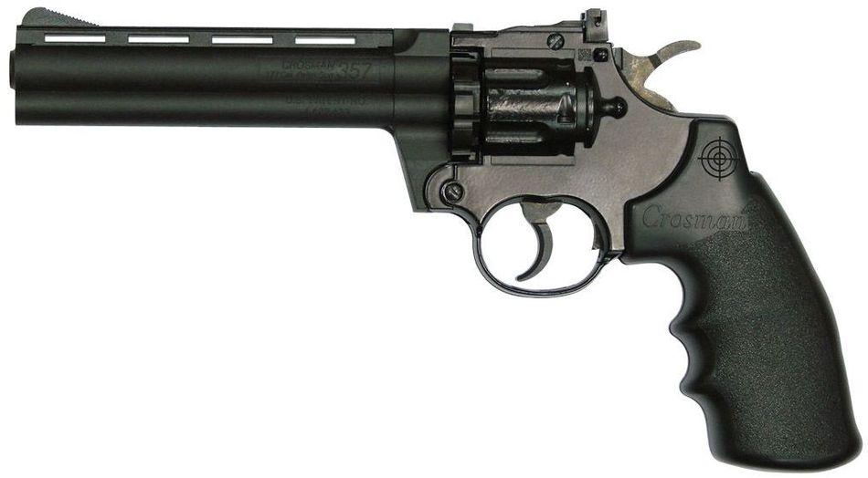 Crosman 357 6 Выбираем пневматический револьвер. Обзор 6 популярных моделей