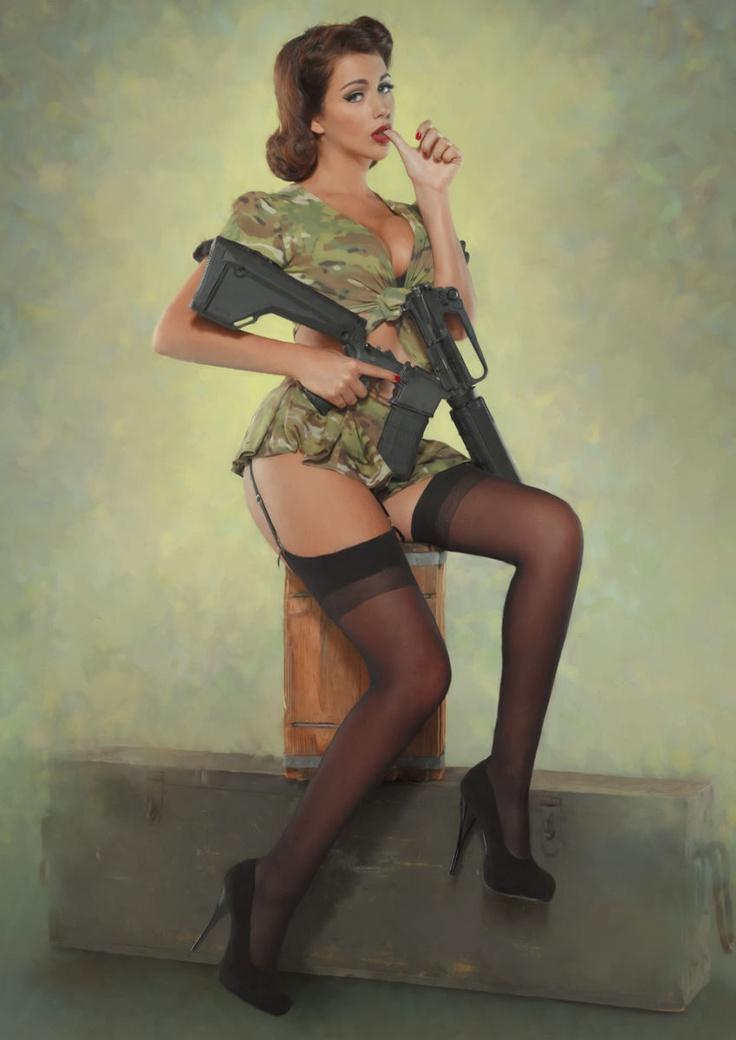 Girls and guns 06 Красивые девушки и оружие