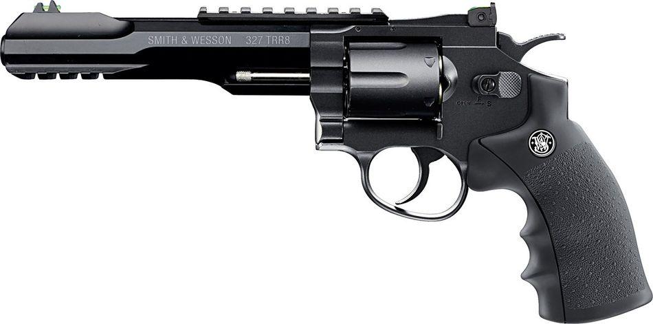 Umarex Smith Wesson 327 TRR8 Выбираем пневматический револьвер. Обзор 6 популярных моделей