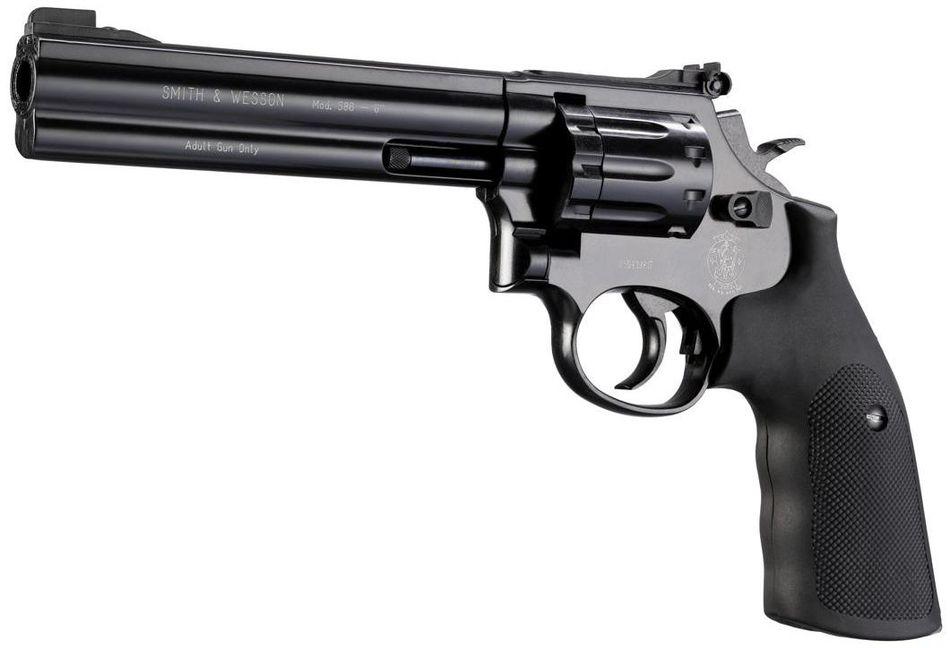 Umarex Smith Wesson 586 6 Выбираем пневматический револьвер. Обзор 6 популярных моделей
