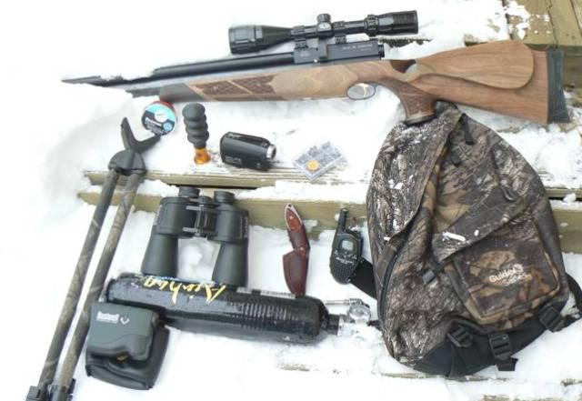 daypack2 Набор необходимых вещей для охотника с пневматическим оружием