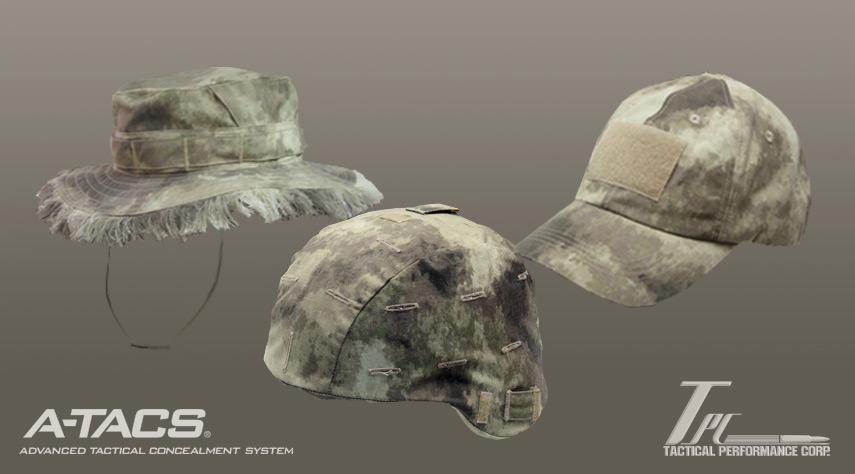 tps a tacs hats Снаряжение и тактическая одежда A TACS от Tactical Performance Corp