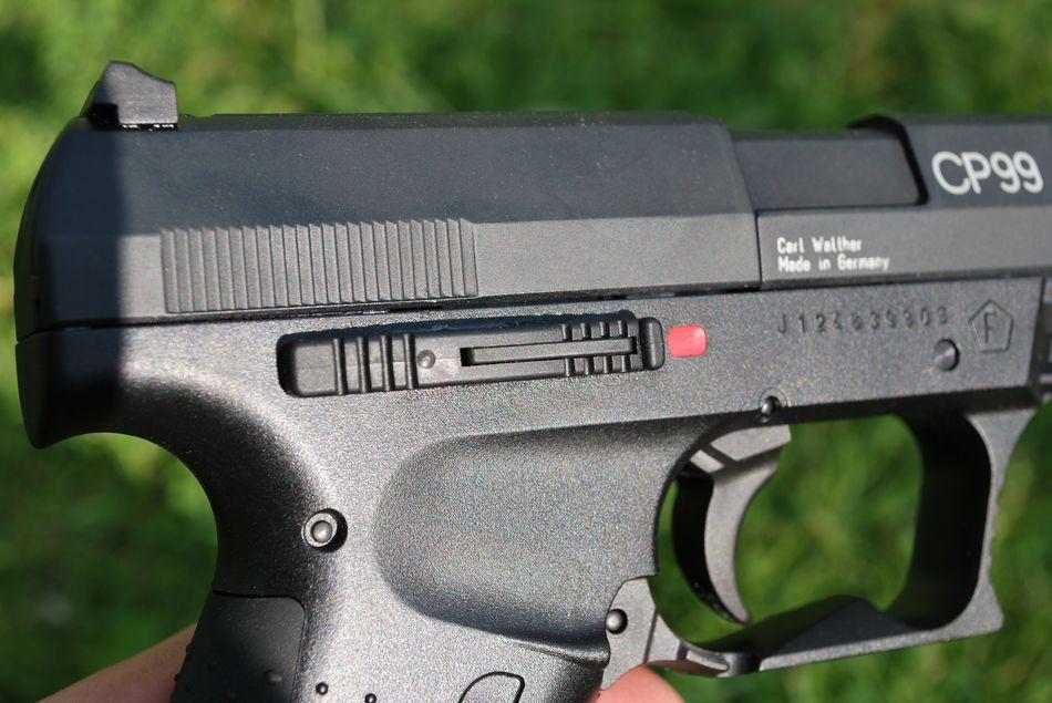 walther cp99 9 Мой взгляд на пневматический пистолет Umarex Walther CP99