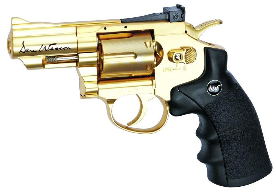 zolotoj ASG Dan Wesson Выбираем пневматический револьвер. Обзор 6 популярных моделей