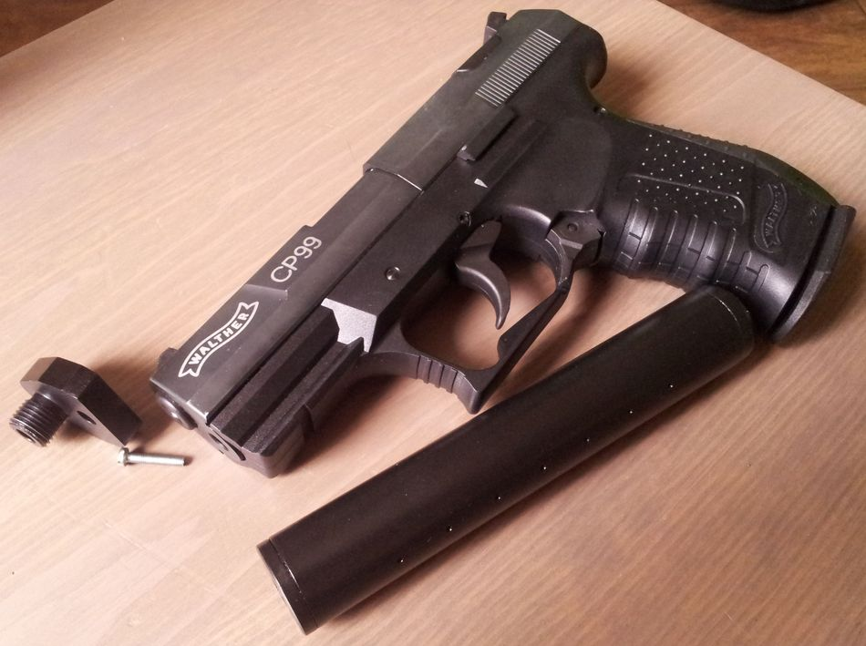 2013 07 19 18.45.58 Umarex Walther CP99 с модератором