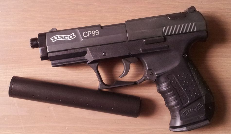 2013 07 19 18.47.25 Umarex Walther CP99 с модератором