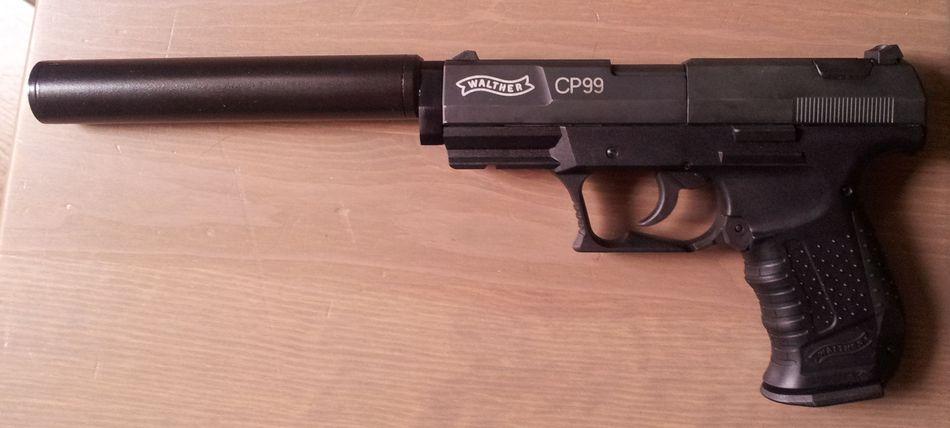 2013 07 19 18.48.28 Umarex Walther CP99 с модератором