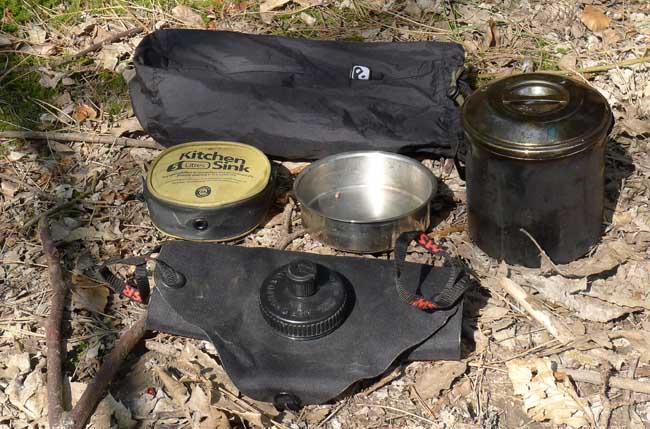Billy Can kit 650 31 предмет для выживания в лесу