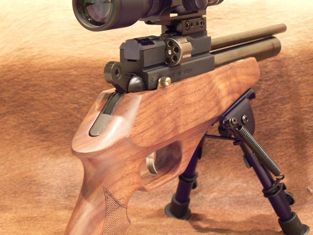 Evanix Renegade Hunting Pistol 02 Охотничий PCP пистолет Evanix Renegade Hunting Pistol