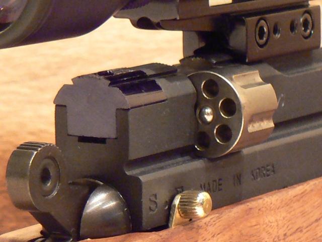 Evanix Renegade Hunting Pistol 03 Охотничий PCP пистолет Evanix Renegade Hunting Pistol