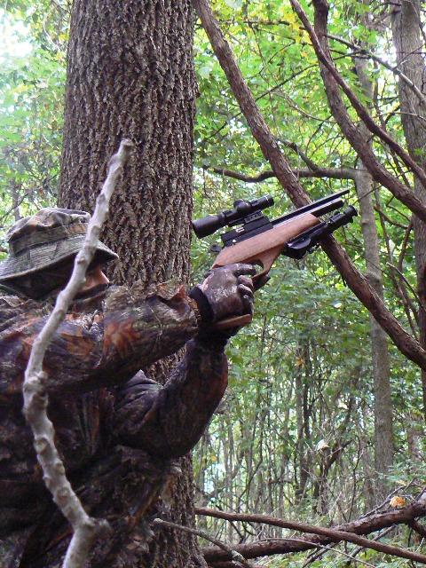Evanix Renegade Hunting Pistol 05 Охотничий PCP пистолет Evanix Renegade Hunting Pistol