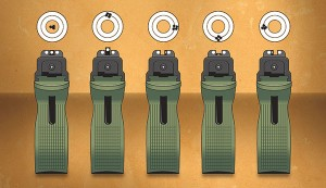 Shooting 002 300x173 Самые распространенные ошибки при стрельбе из пистолета