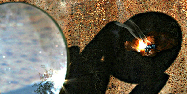 magnifying glass fire 5 способов разжечь огонь