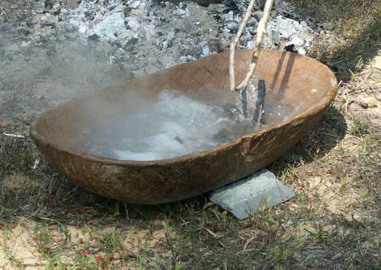 rock.boil  Навыки выживальщика. Как приготовить пищу на горячих камнях