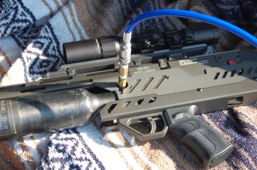 GT web 4 500x332 Полуавтоматическая PCP винтовка Evanix GTL 480S