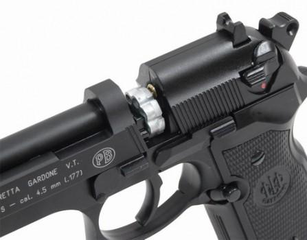 2a 447x350 Пневматический пистолет Beretta M 92 FS