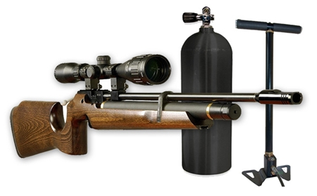 vintovki s predvaritelnoj nakachkoj Обзор пневматических винтовок для охоты