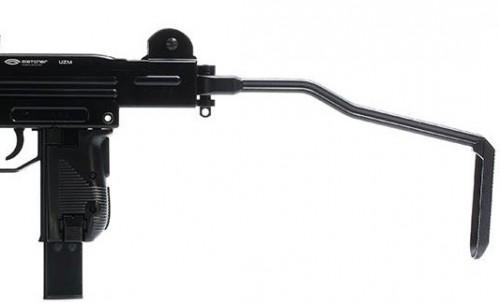 QIP Shot Screen 523 500x303 Пневматический пистолет пулемёт УЗИ Gletcher UZM